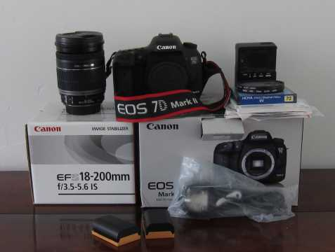Canon 7D Mark II, Canon 5D Mark IV,